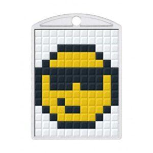 Pixelhobby Schlüsselanhänger Set Smiley