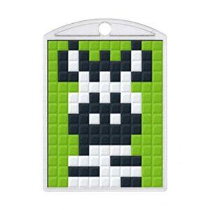 Pixelhobby Schlüsselanhänger Set Zebra